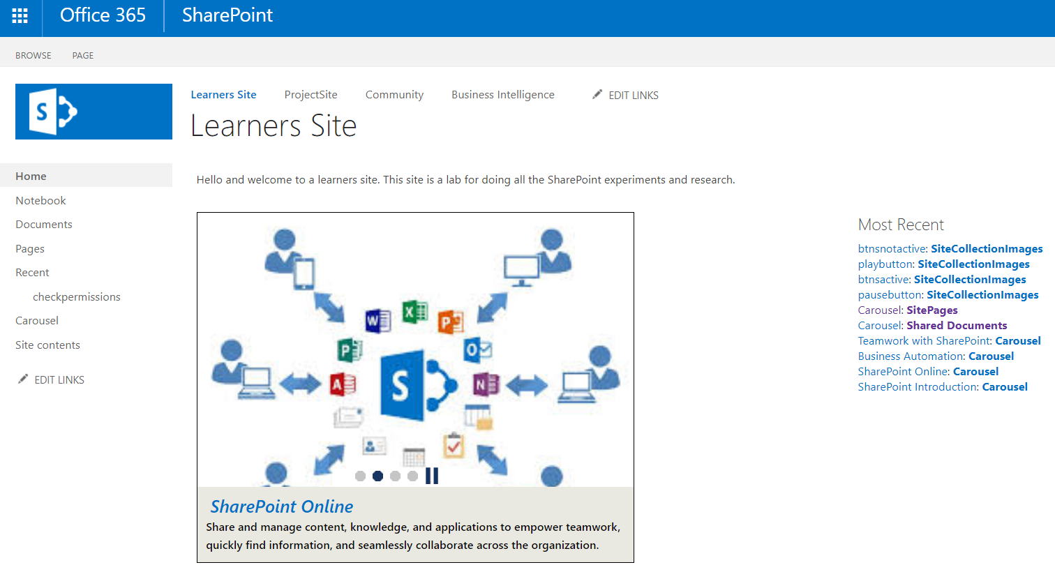 Build a carousel in SharePoint from SharePoint list items
